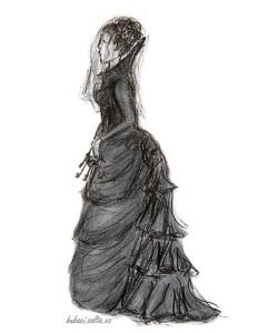 Černá paní