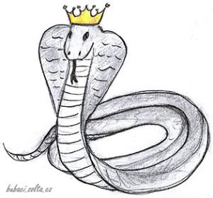Had se zlatou korunkou